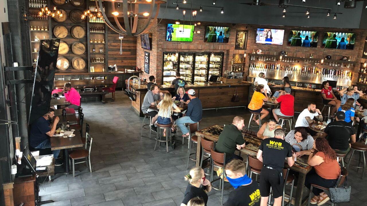 Bucs fans celebrate home opener