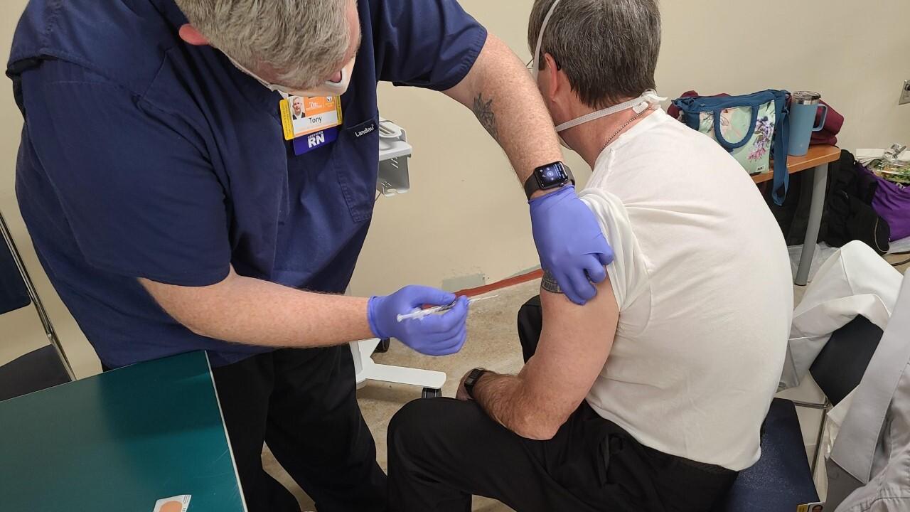 COVID-19 vaccine at Truman Medical Center