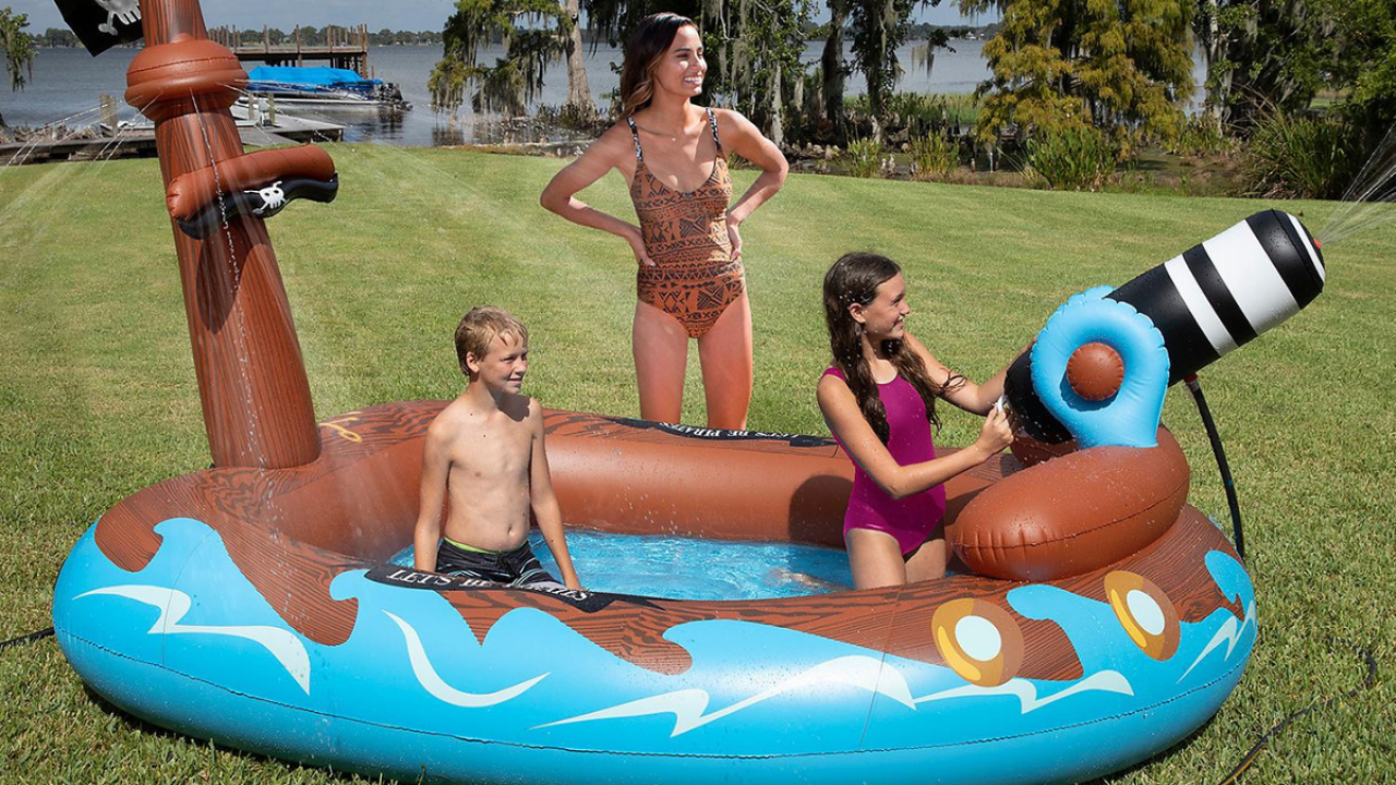 Sam's Club Has Awesome Inflatable Spray Pools For Just $40