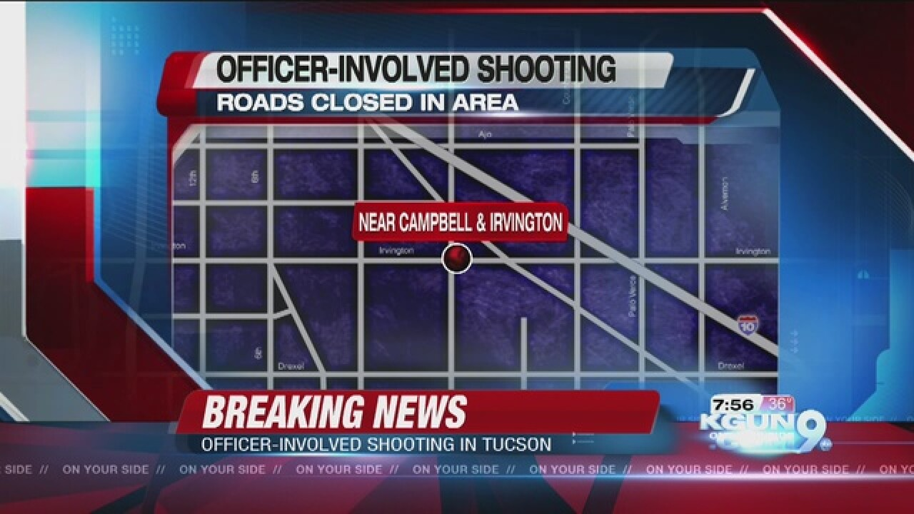 Officer involved in southside shooting
