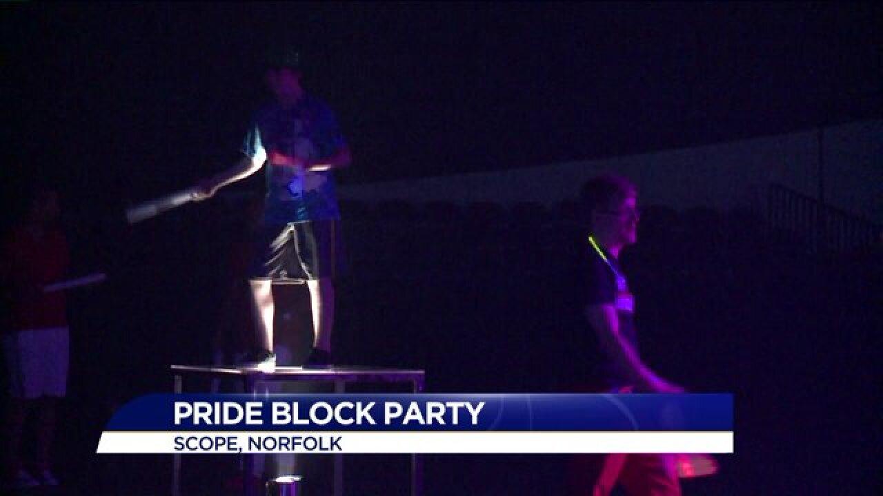 Orlando massacre on minds of many at Hampton Roads Pride BlockParty