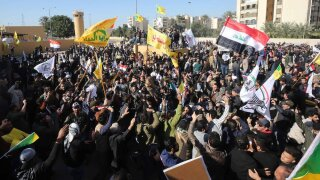 Siege of U.S. embassy in Iraq ends after Iraqi forces secure area