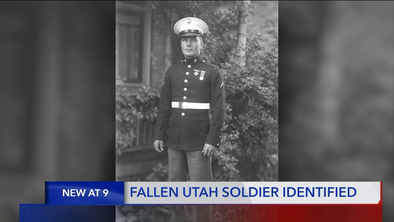 DNA testing helps identify remains of Utah soldier killed at PearlHarbor