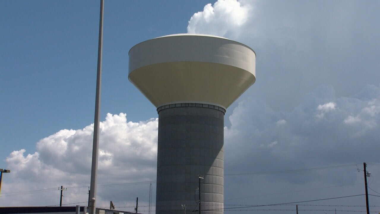 City water department set to test new water towers