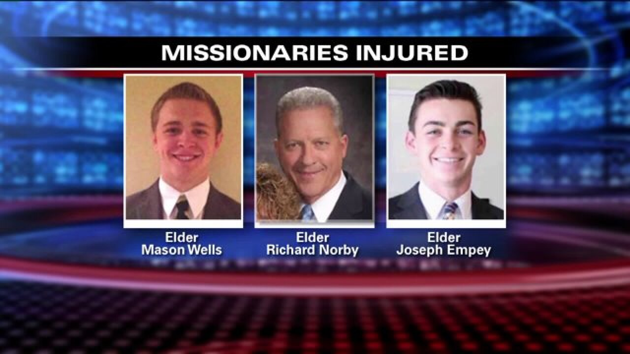 Mission President speaks on 3 Utah LDS missionaries injured in Belgium attack