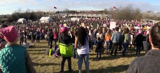 Photos: Thousands Attend Women's March In Nashville
