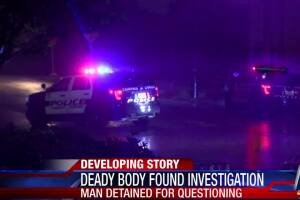 CCPD investigating dead body found