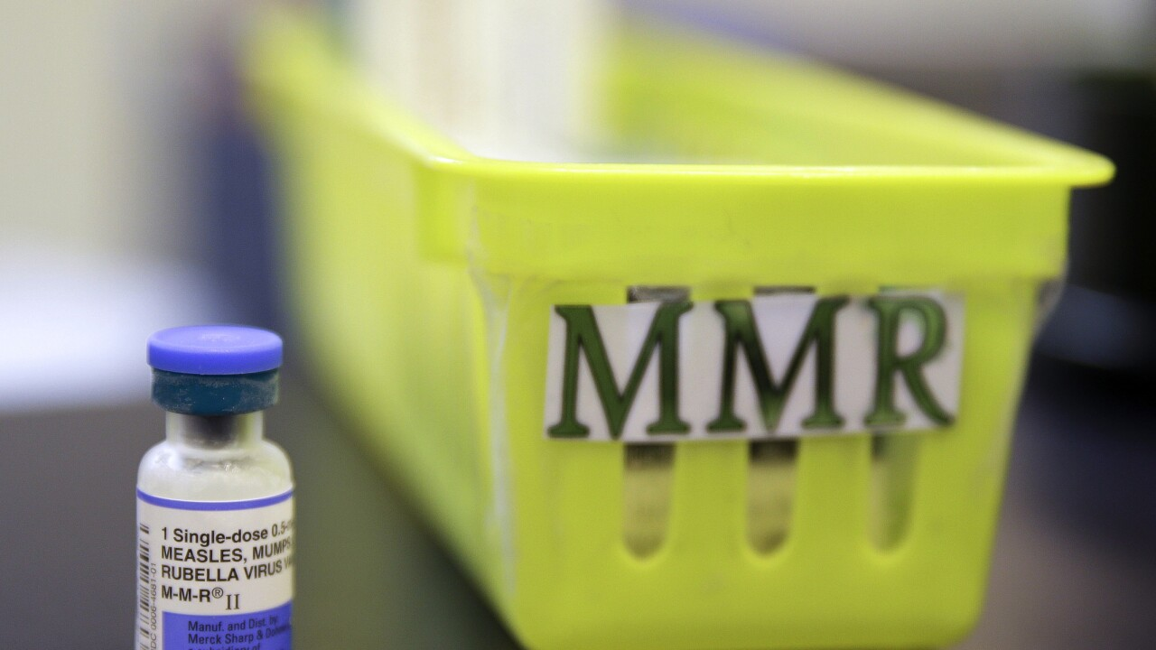 Researchers suggest MMR vaccine could help protect against COVID-19 symptoms