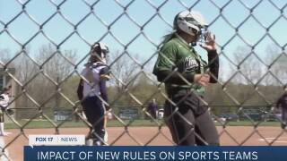 Local athletic directors react to new contact tracing rules