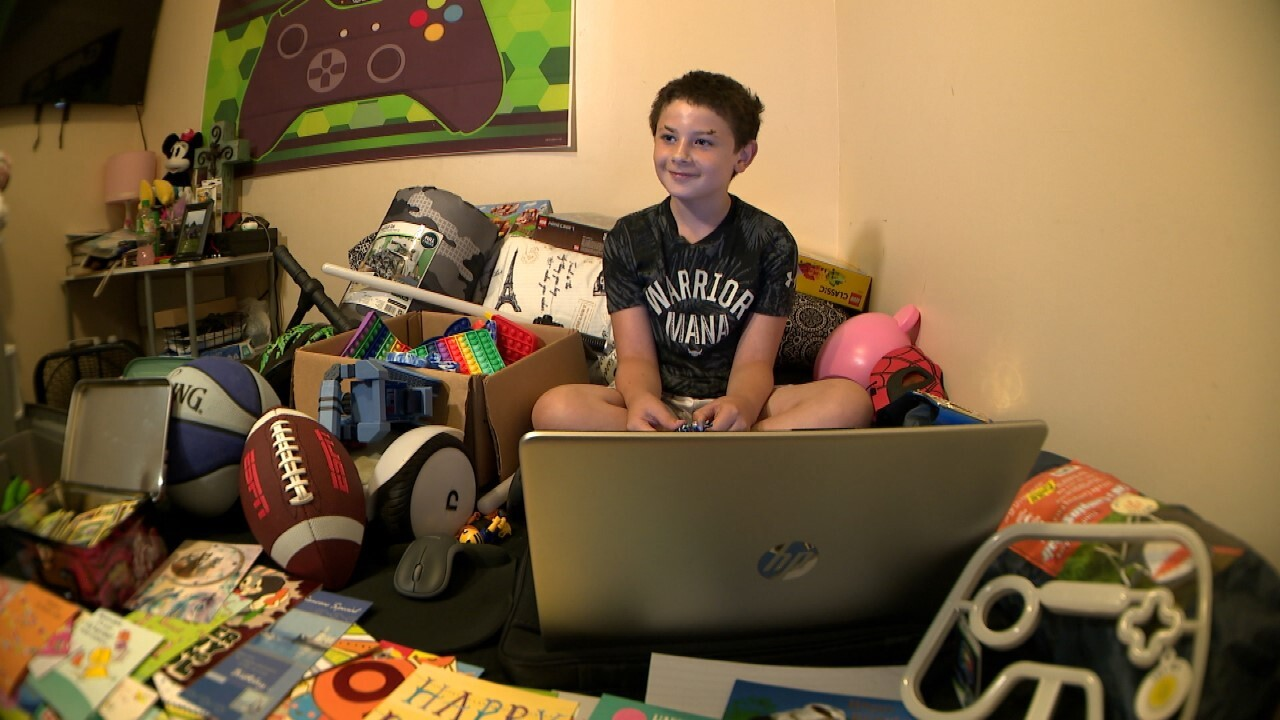 Waverly boy showered with support after surviving deadly flood alone