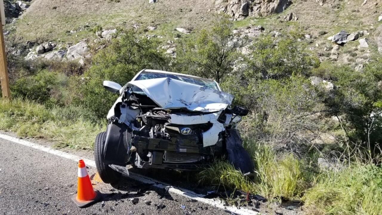 Head-on crash closes 178