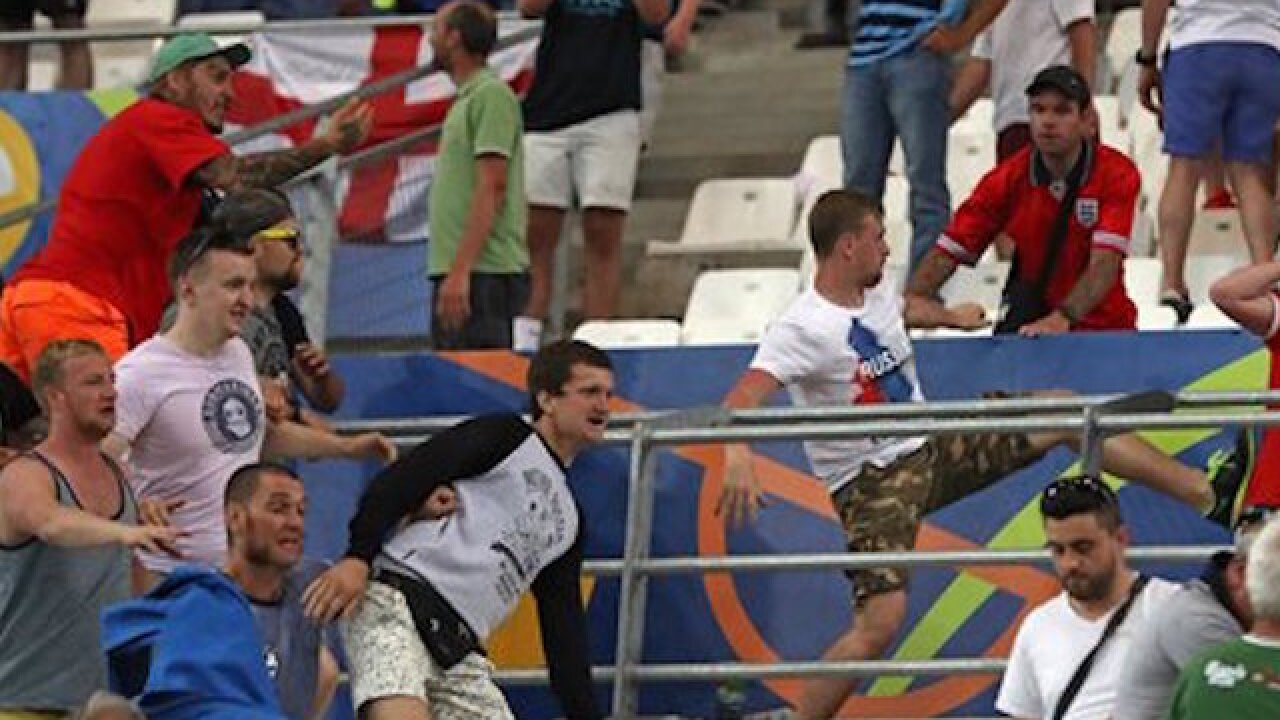 Russia will be disqualified in more soccer fan violence
