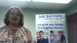 Great Falls Job Service manager Beth Schmidt