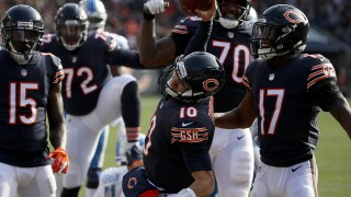 Bears score early and often in win over Lions