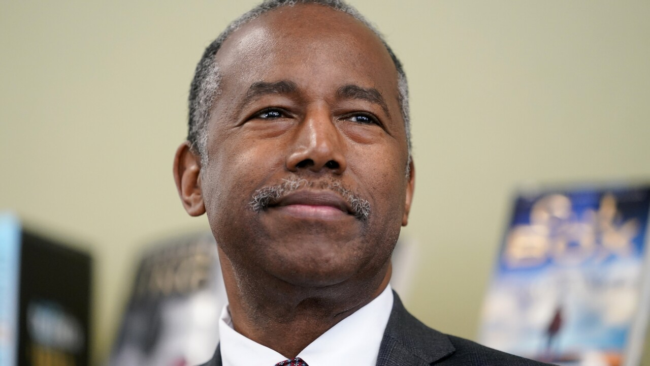 HUD Secretary Ben Carson tests positive for the coronavirus, reports say