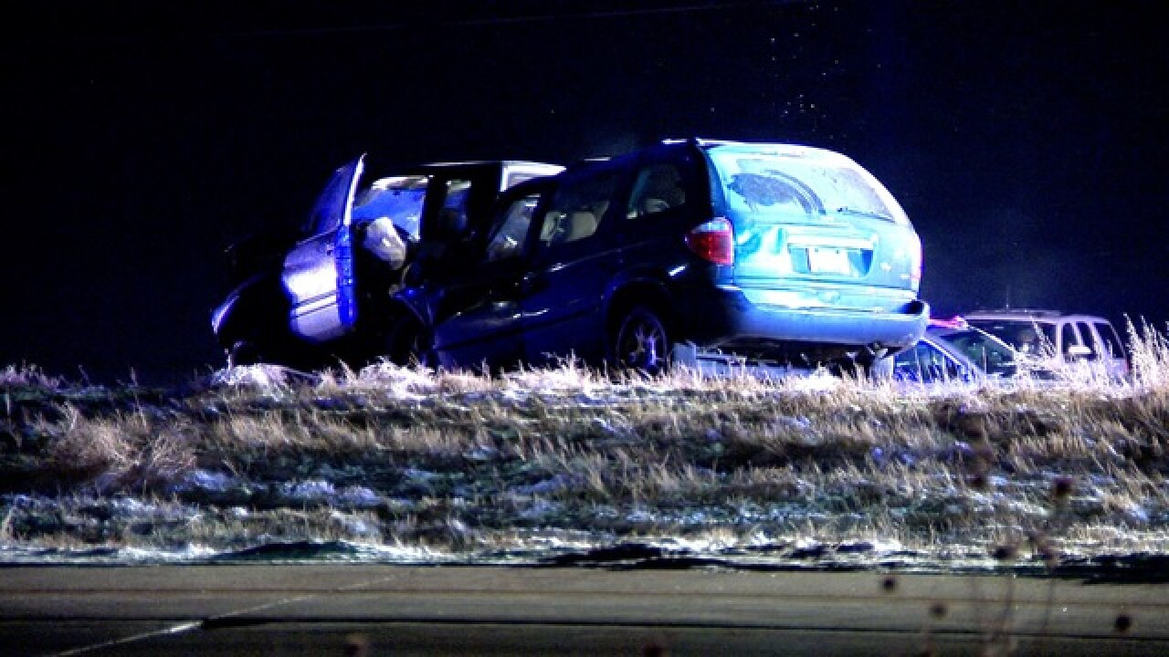 3 dead in I-70 & Tower Rd crash
