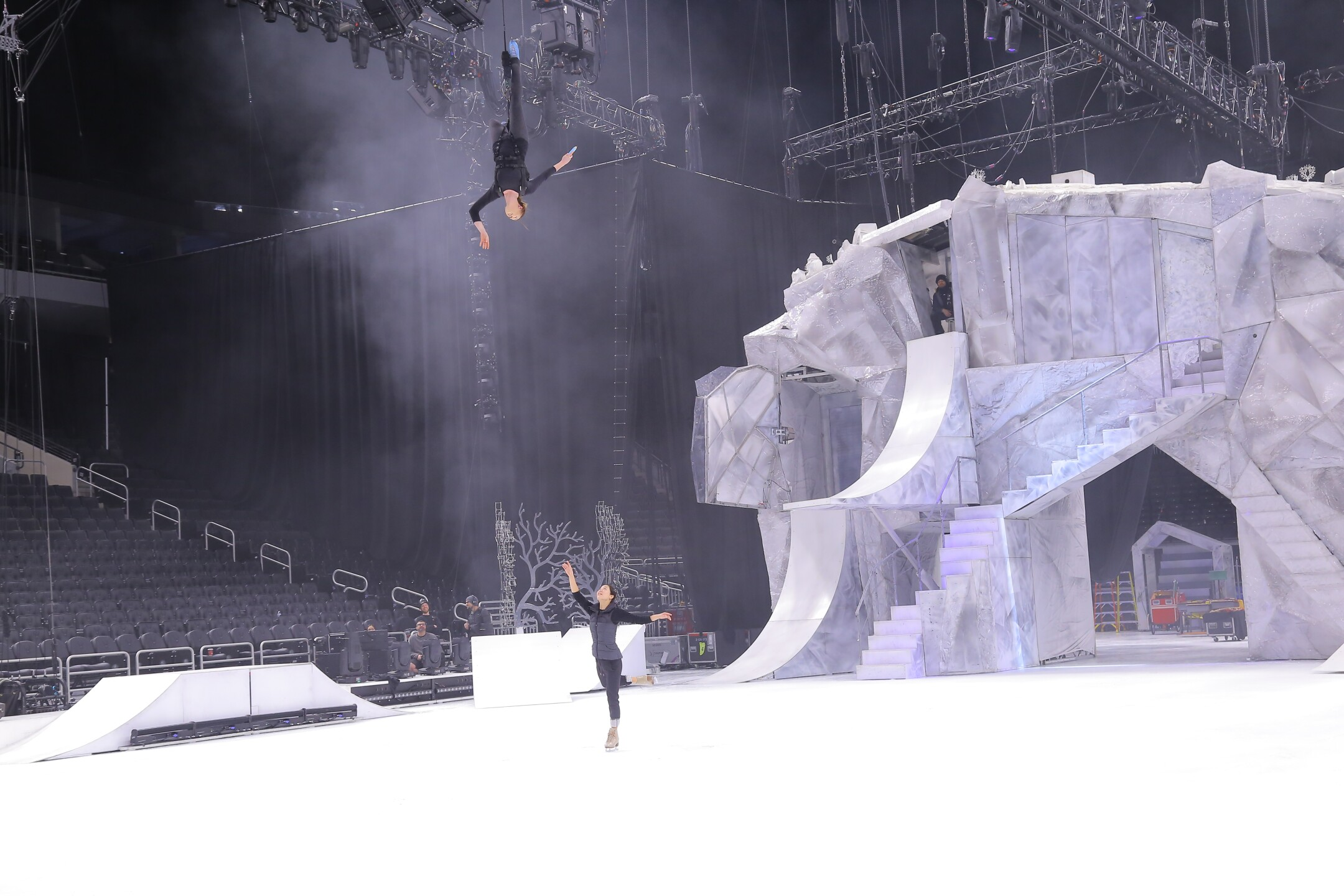 Acrobats and skaters are hitting the ice for the first time ever in Cirque du Soleil Crystal. See the show at Fiserv Forum through Sunday.