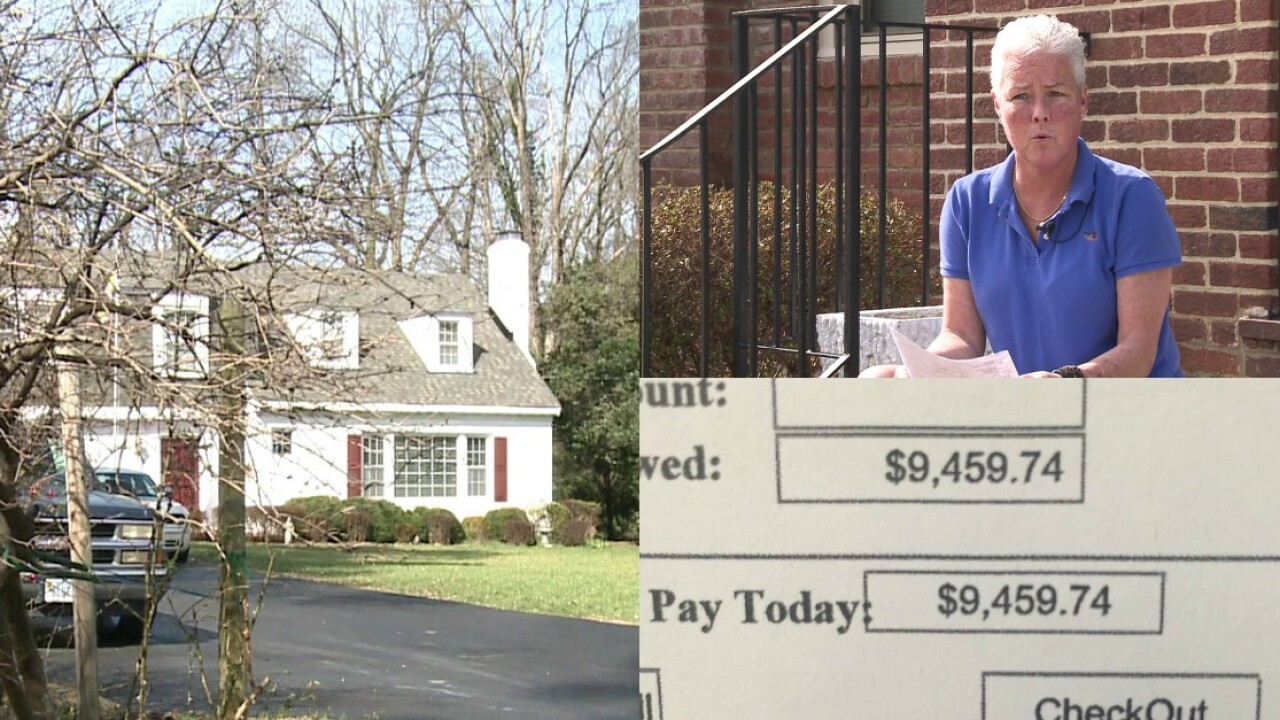 Woman fights $9,000 Petersburg water bill for over ayear