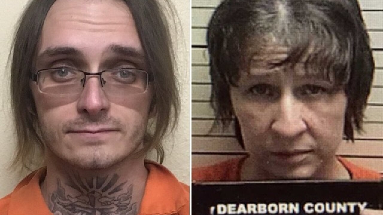 Victim's son, girlfriend charged in double homicide near Aurora