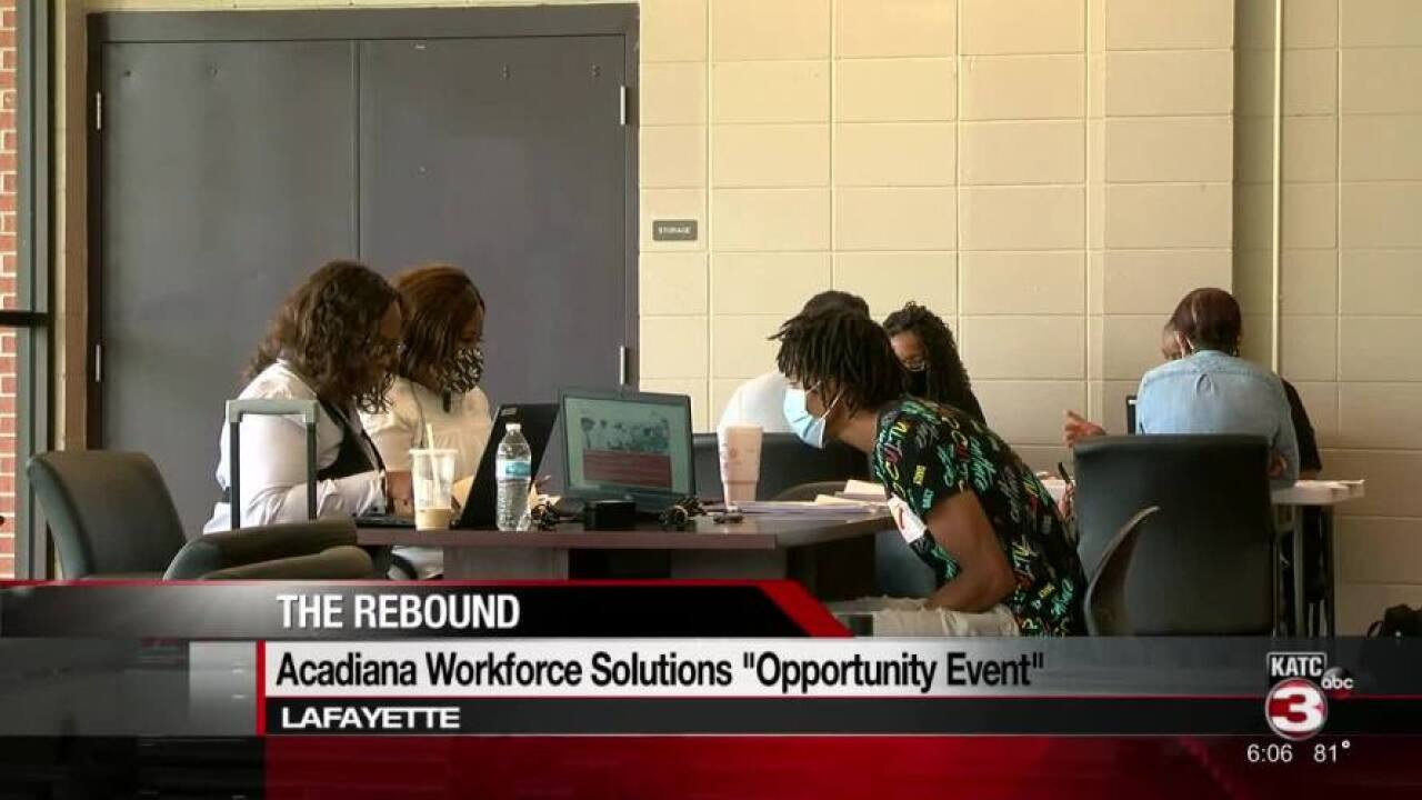 Acadiana Workforce Solutions Opportunity Event.jpg