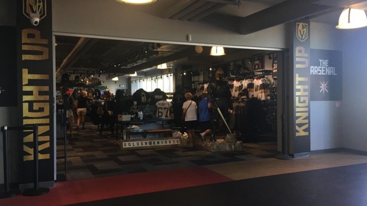 Fans stock up on VGK gear ahead of new season
