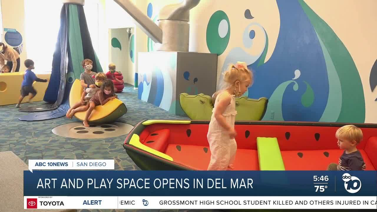 Art and Play Space opens in Del Mar