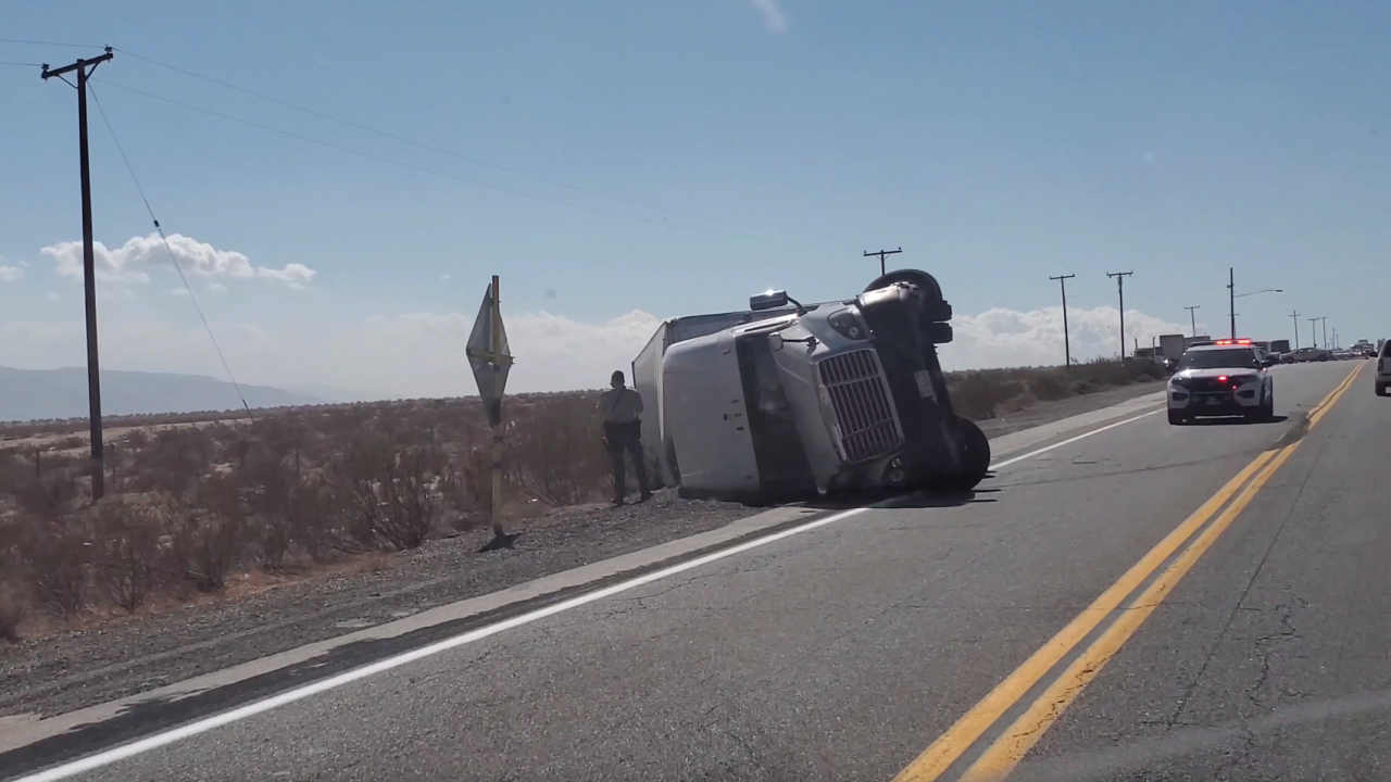 Semi-truck Accident, Kern County