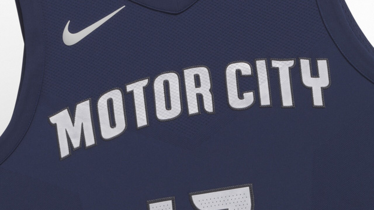Detroit Pistons unveil new Nike 'Motor City' uniforms