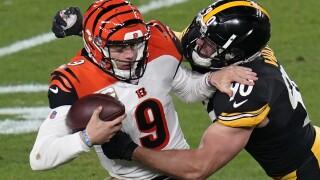 Bengals Steelers Football