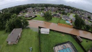 Lafayette Parish Damage