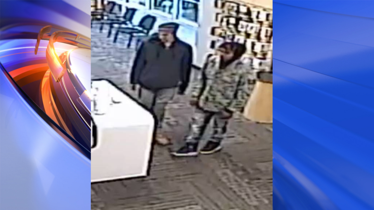 Police are investigating a cellphone robbery in Franklin