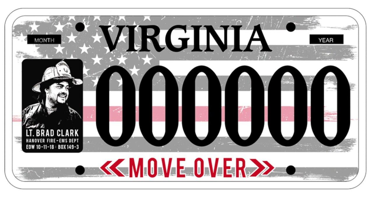 New license plate will honor fallen Lt. Brad Clark, support Move Overlaw