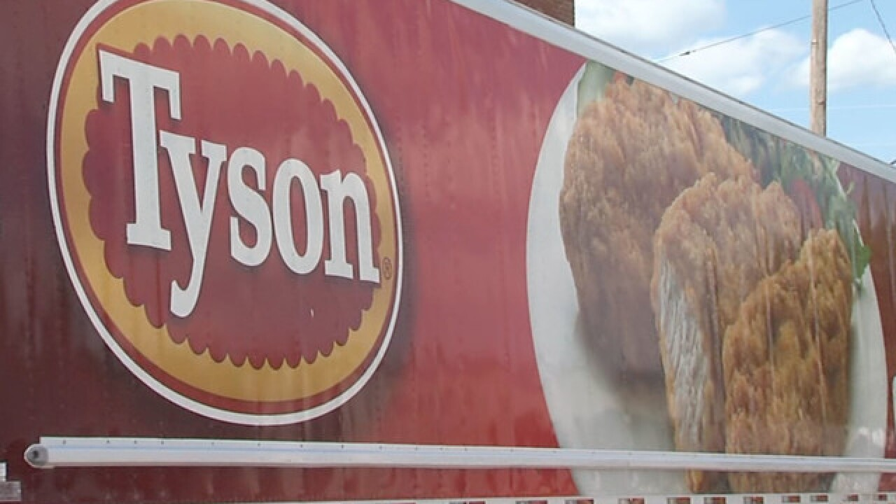 Tyson giving one-time bonuses to thousands of workers in Kansas, Missouri