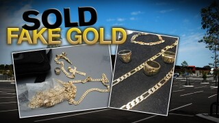 Colorado Springs consumers pay for fake gold after being approached in parking lots.