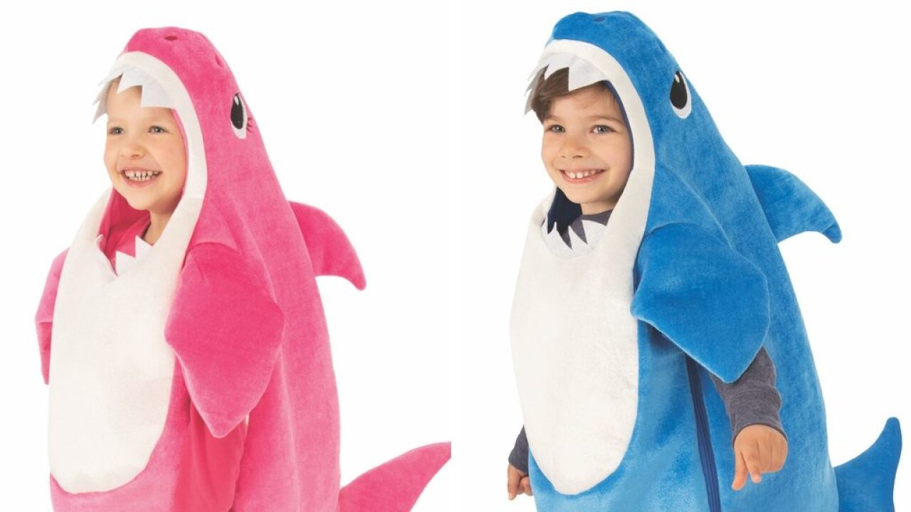 Walmart has singing Baby Shark costumes for less than $20