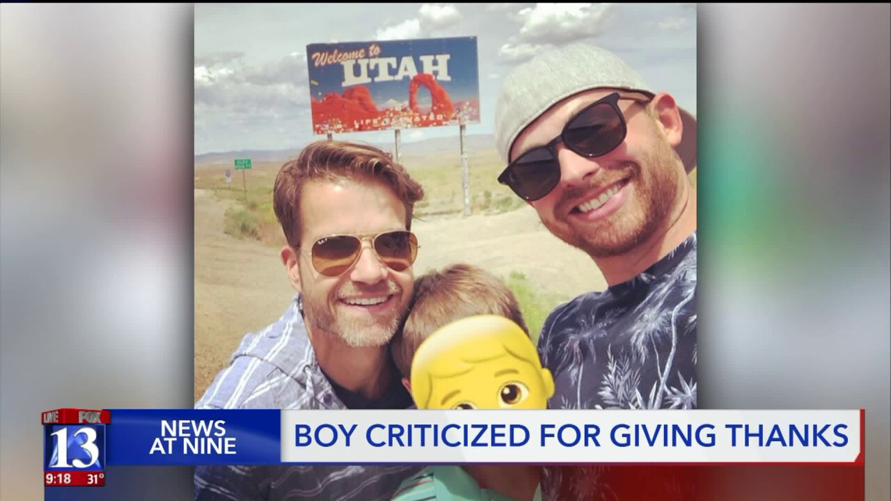 Substitute fired for lecturing child about his adoptive dads