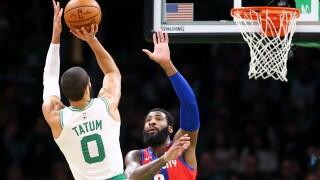 Jayson Tatum, Jaylen Brown help Celtics rout Pistons