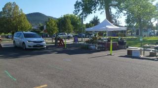 farmers market drive-thru