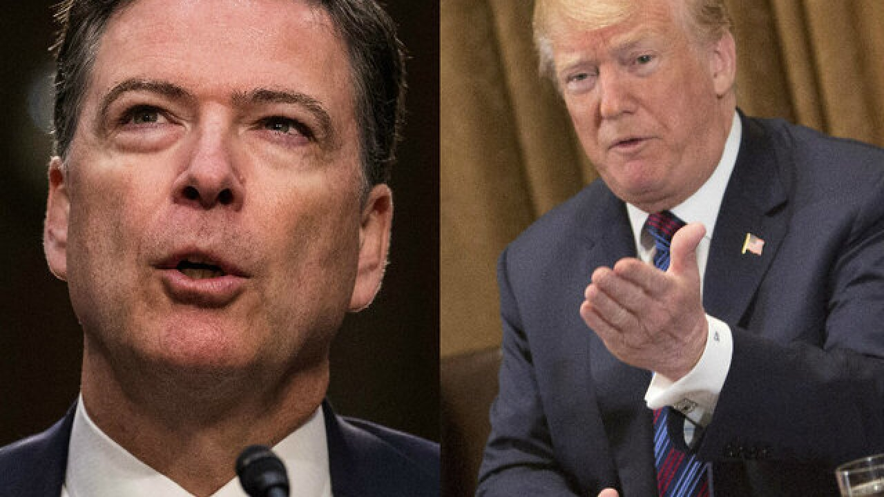 DC Daily: Trump slams 'disgruntled' Comey after ABC interview