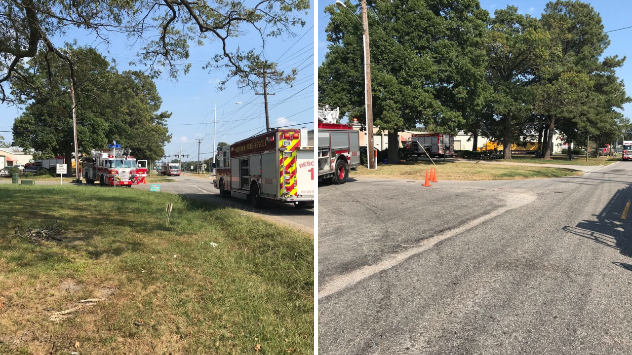 Surrounding area evacuated after ammonia leak at Norfolk business
