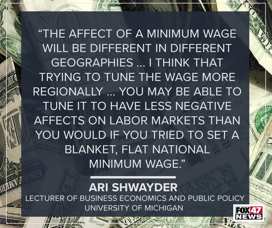 The affect of a minimum wage job