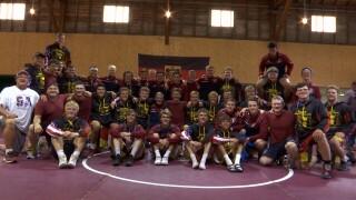 German wrestling exchange team