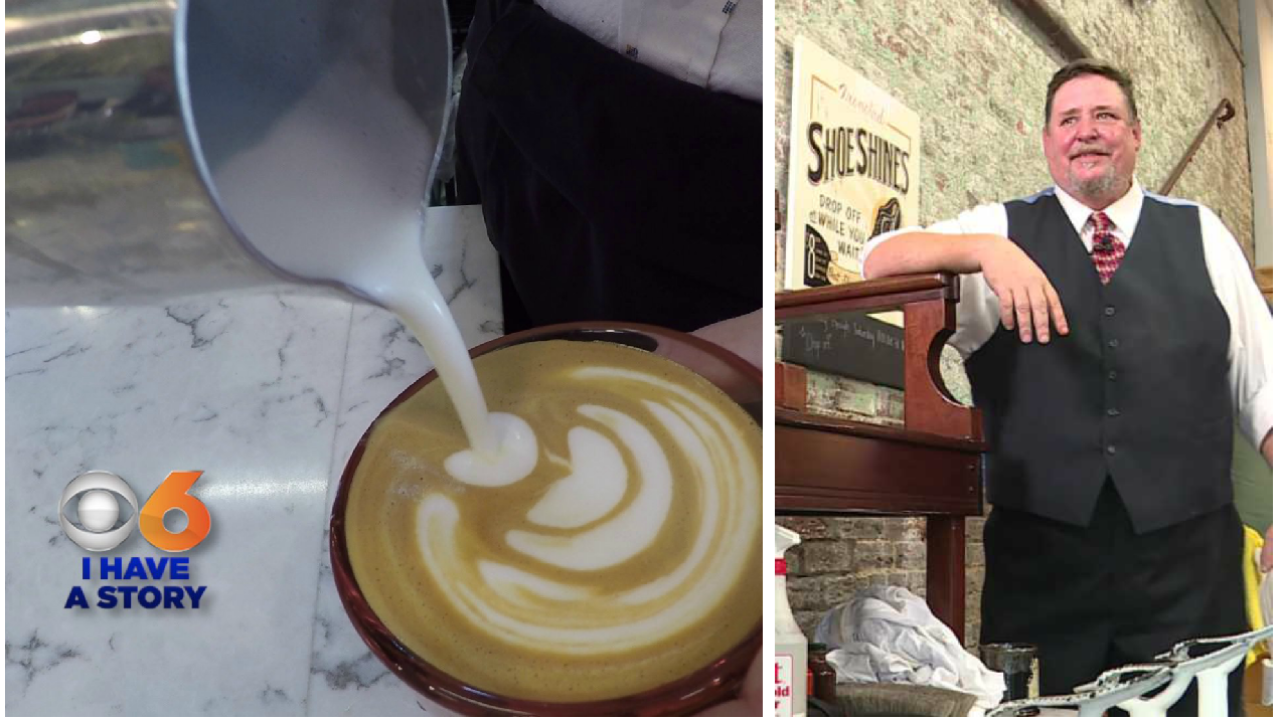 At this coffee shop you can get some joe and look good from 'heel' totoe