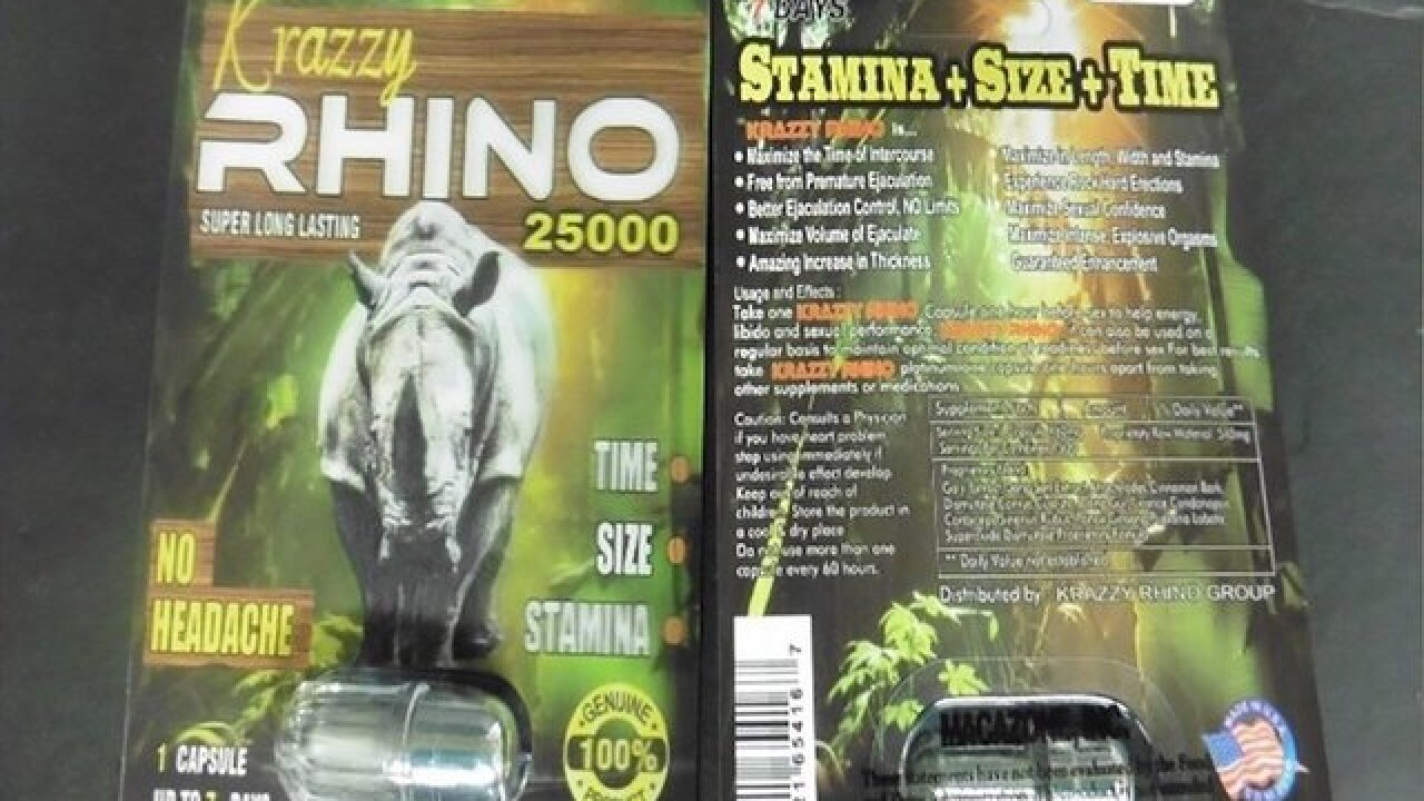 FDA warns against using Rhino male enhancement products