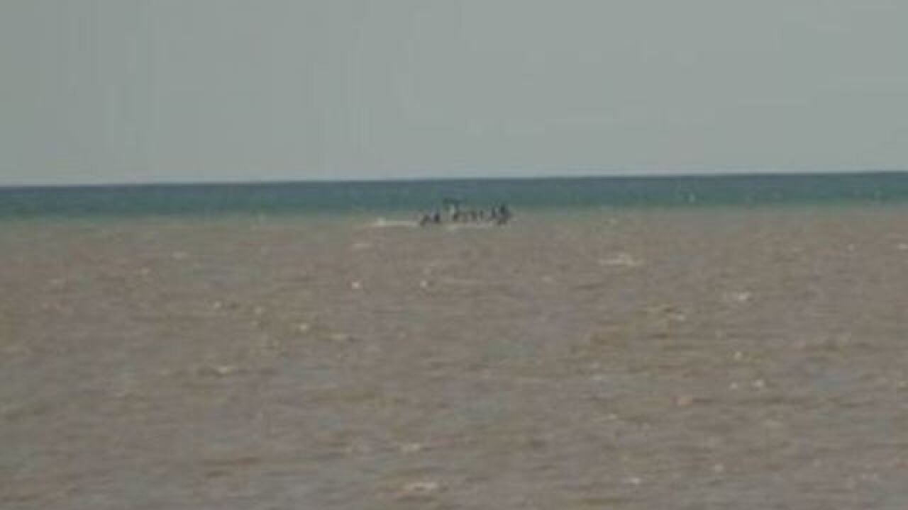 Almost one million gallons of sewage dumped into Lake Erie in New York