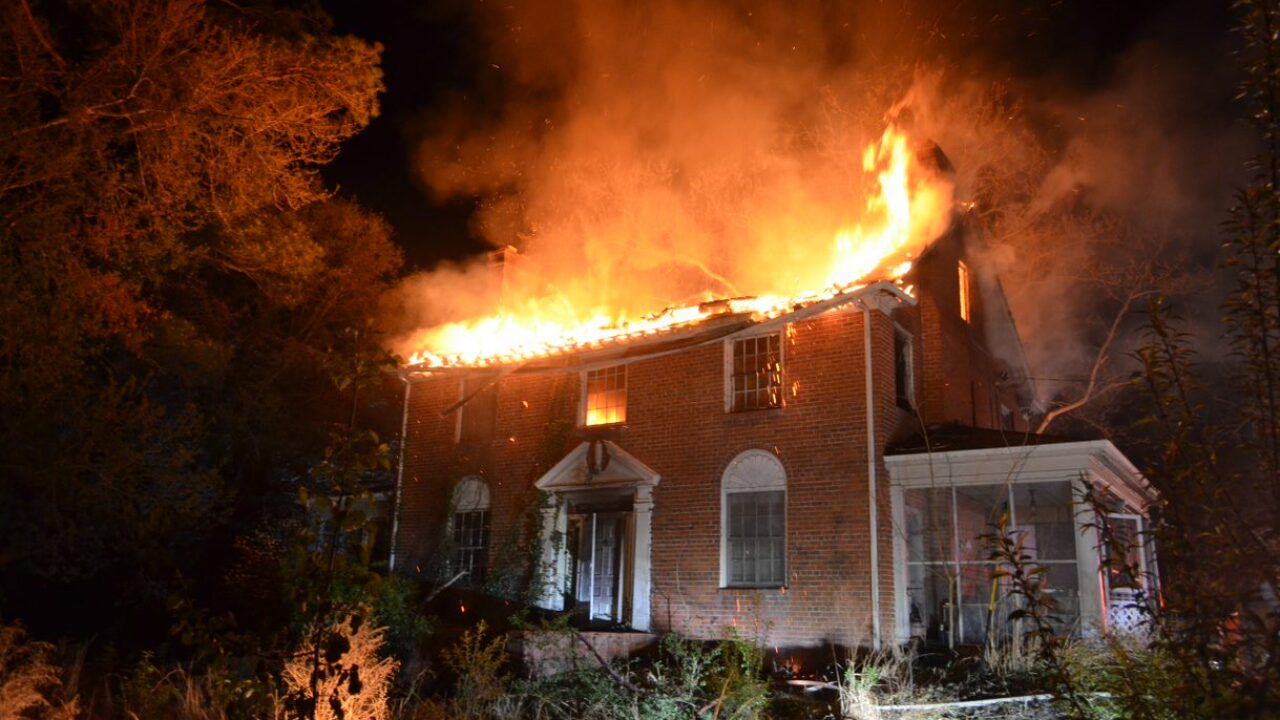 House fire displaces one in Henrico.