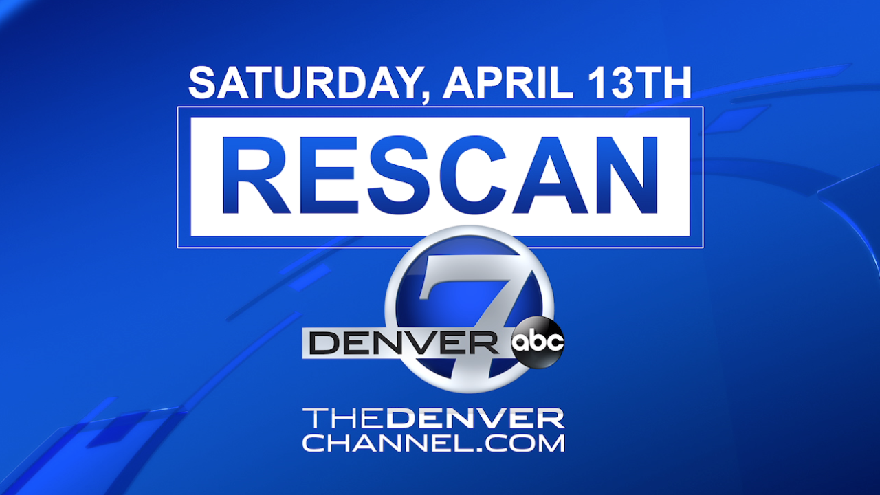 Watch Denver7 over the air? You'll need to rescan your TV on April 13