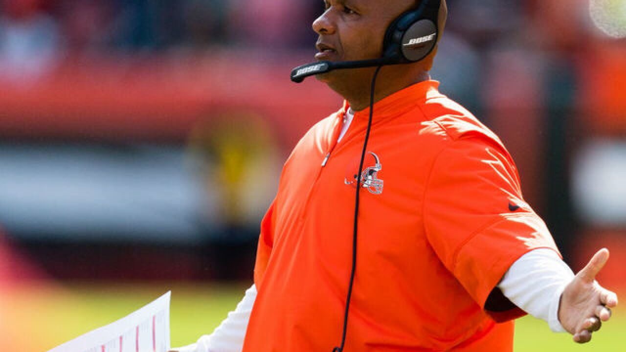 Hue Jackson returns to the Bengals as special assistant to head coach Marvin Lewis