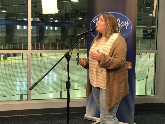 Tampa Bay Idol 2018 auditions held at Florida Hospital Center Ice