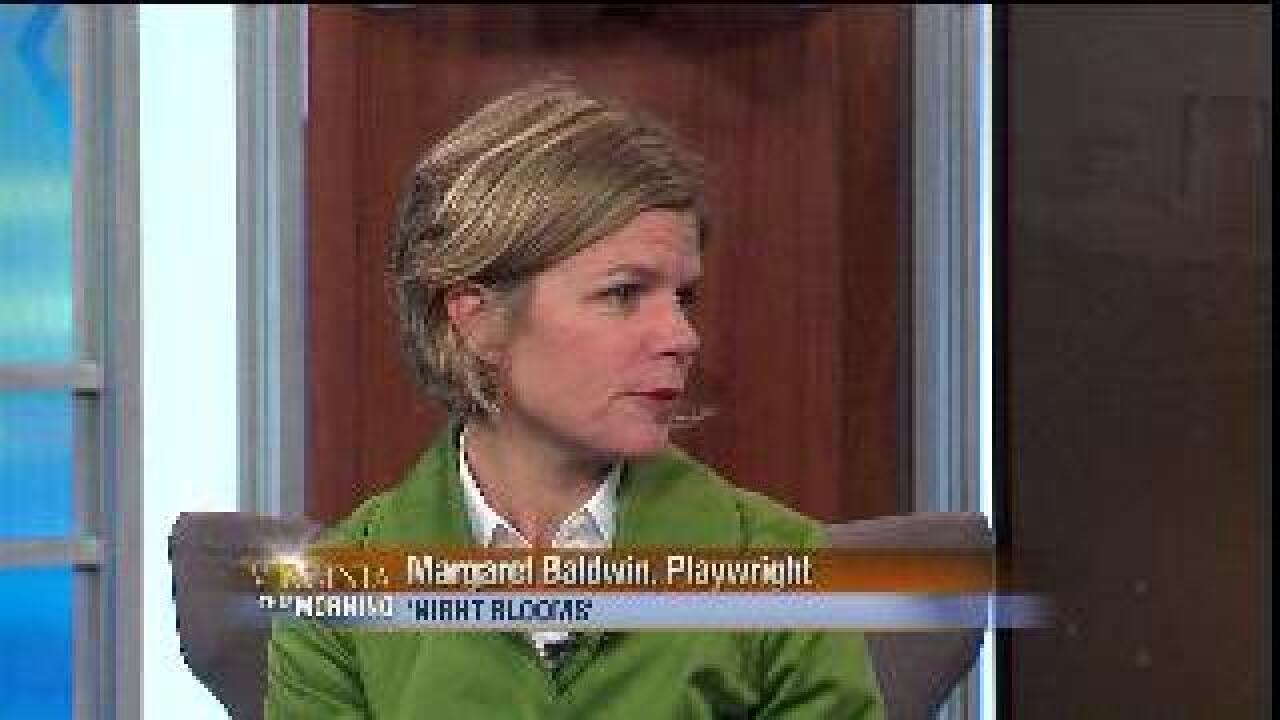 VIRGINIA THIS MORNING: Playwright Margaret Baldwin